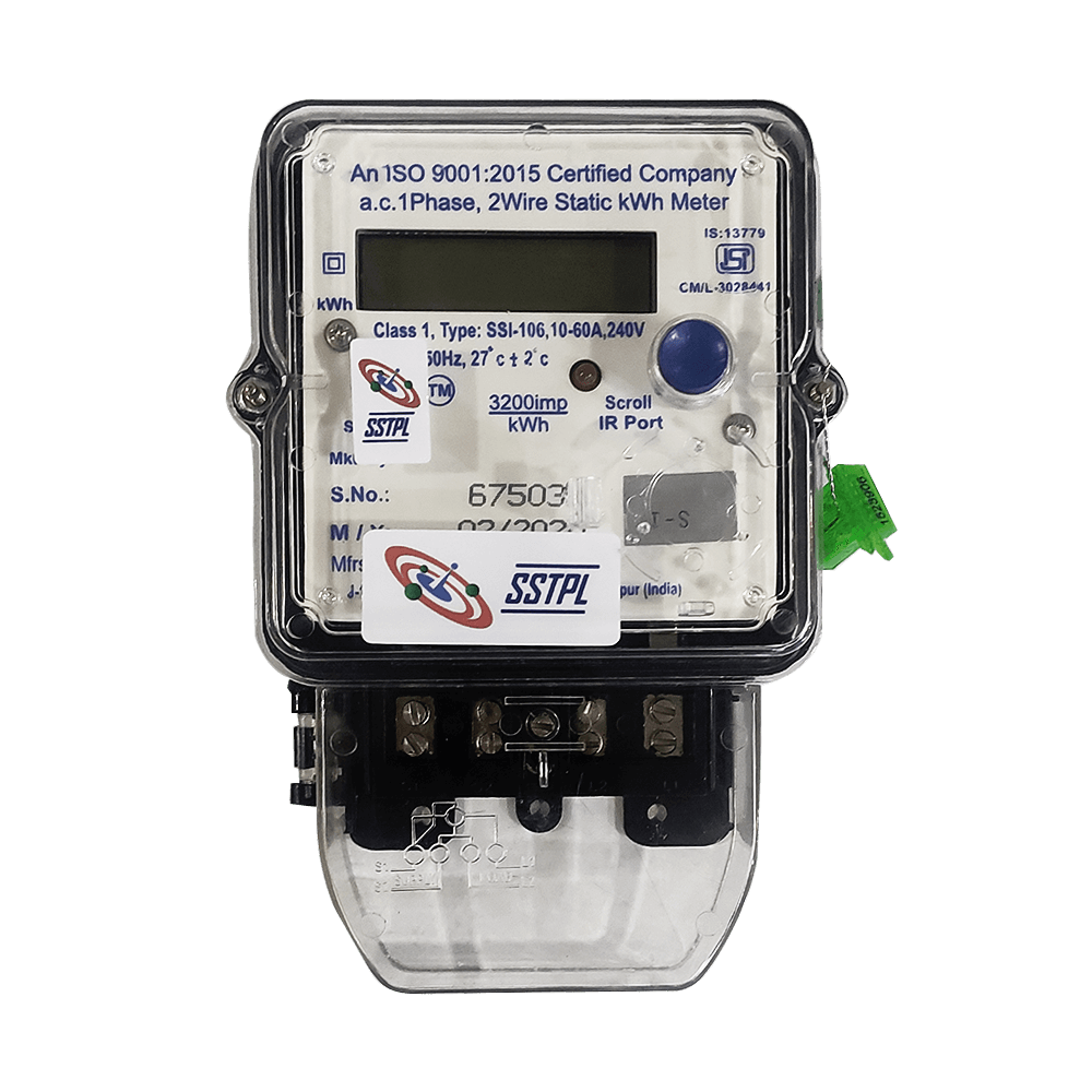 LoRa enabled Smart Energy Meter - Single Phase