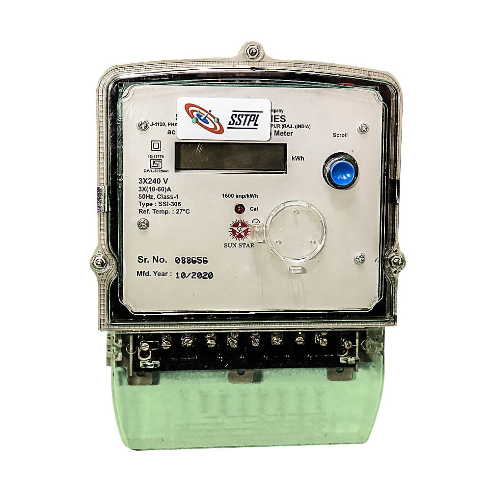 LoRa enabled Smart Energy Meter - Three Phase